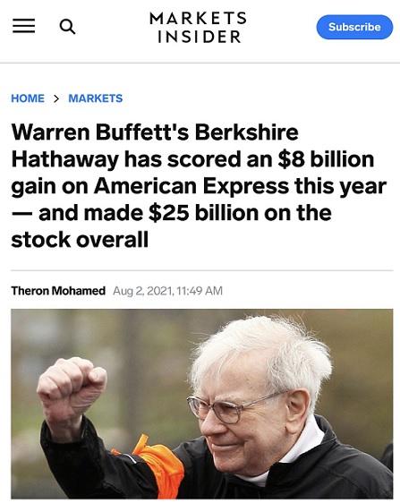 """Xứng đáng là """"thần chứng khoán""""! Buffett đã kiếm được 8 tỷ đô la trong năm nay chỉ bằng một cú đầu tư"""