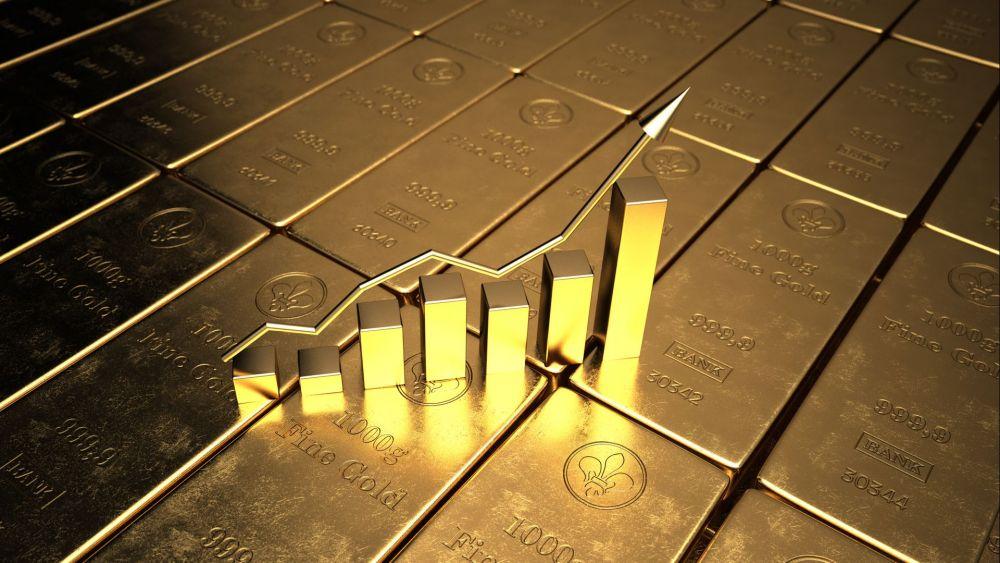 Giá vàng 5/10 tăng mạnh, đồng USD lao dốc