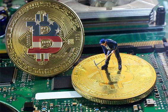 Hoa Kỳ vượt qua Trung Quốc trong khai thác Bitcoin