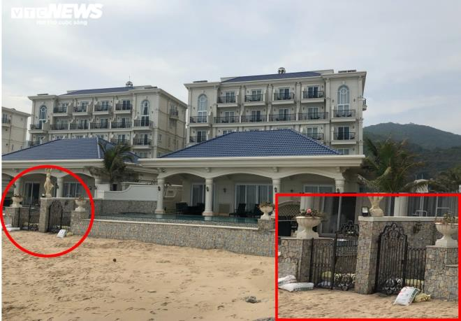 Lan Rừng Resort ngang nhiên lấn biển, đổ bê tông chặn đường ra biển của ngư dân - 2