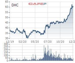 Dohaco (DHC) chốt quyền tạm ứng cổ tức bằng tiền tỷ lệ 20% - Ảnh 1.