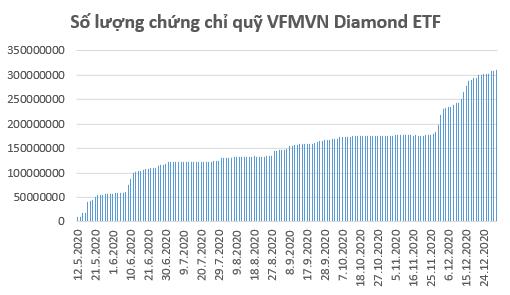 235 triệu USD đổ vào chứng khoán Việt Nam thông qua các quỹ ETFs trong năm 2020 - Ảnh 1.