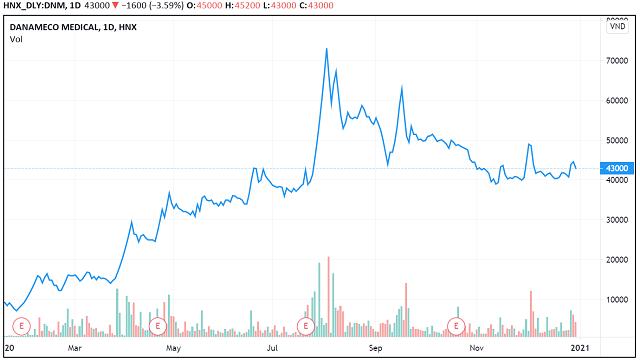 Những 'con sóng cổ phiếu' trong năm VN-Index biến động 450 điểm - Ảnh 2.