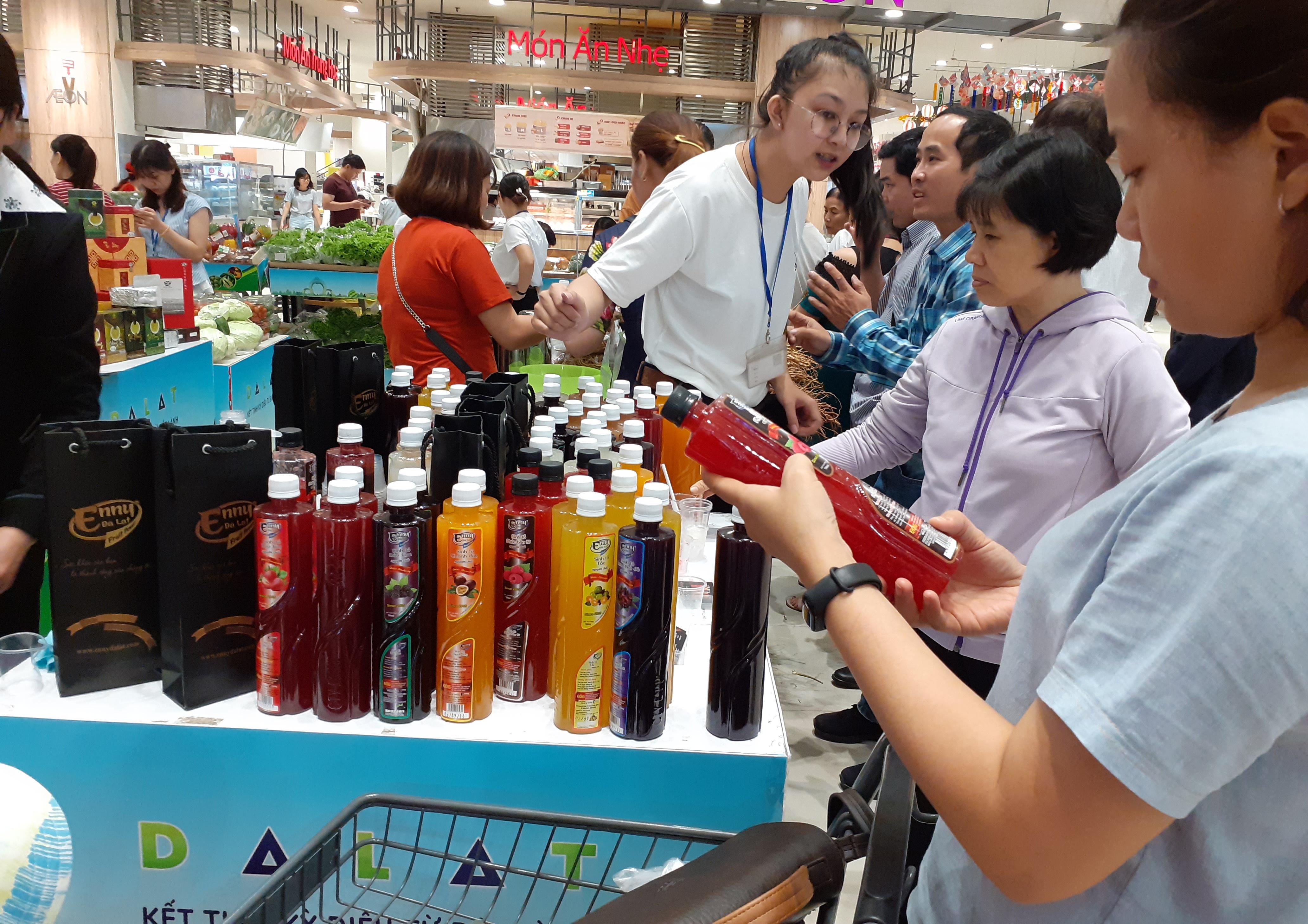Doanh nghiệp tìm cách phát triển thị trường xuất khẩu thông qua hệ thống bán lẻ hiện đại.