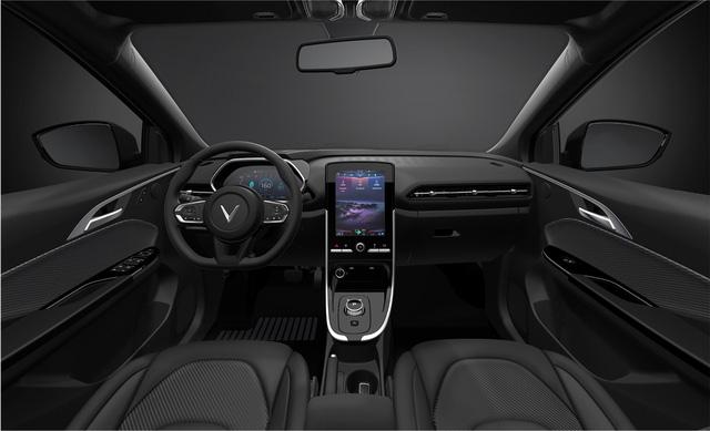 Bóc trang bị 3 ô tô VinFast hoàn toàn mới: Màn hình khổng lồ, cửa sổ trời miên man, tìm được nút bấm cũng khó - Ảnh 3.