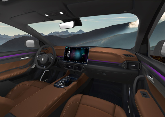 Bóc trang bị 3 ô tô VinFast hoàn toàn mới: Màn hình khổng lồ, cửa sổ trời miên man, tìm được nút bấm cũng khó - Ảnh 7.