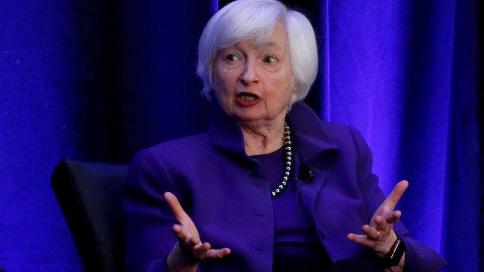 Tân Bộ trưởng Tài chính Mỹ Yellen. Ảnh: Reuters.