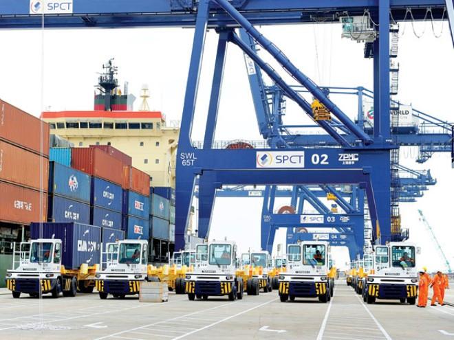 Hệ thống Logistic được đầu tư tốt giúp xuất khẩu tăng trưởng.