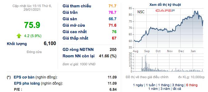 Giống cây trồng Việt Nam (NSC): Năm 2020 lãi 194 tỷ đồng, EPS đạt 10.817 đồng - Ảnh 2.