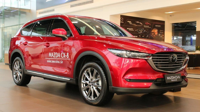 Loạt xe Mazda ưu đãi cao nhất 120 triệu: Giá CX-8 còn thấp kỷ lục, Mazda6 không quá 1 tỷ đồng - Ảnh 1.