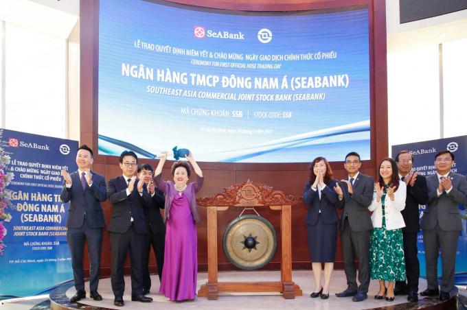 Gần 1,21 tỷ cổ phiếu SSB của Ngân hàng TMCP Đông Nam Á chính thức giao dịch trên HoSE