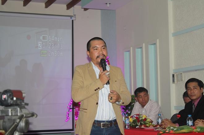 Nguyễn Hữu Tiến tại buổi hội thảo (ảnh st)