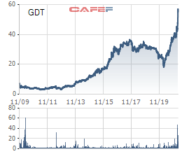 Pyn Elite Fund thoái vốn, cổ phiếu Gỗ Đức Thành (GDT) lập đỉnh lịch sử - Ảnh 1.