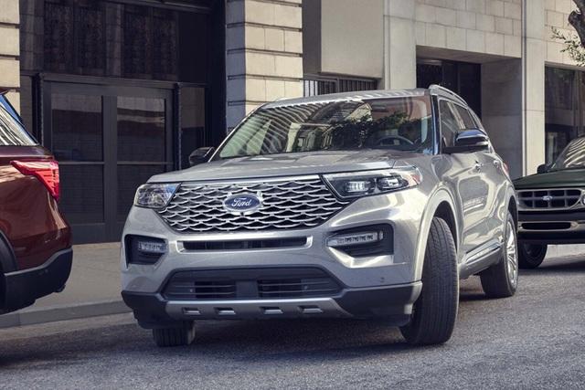 Ford Explorer 2021 có thể bán ra tại Việt Nam từ tháng 9.
