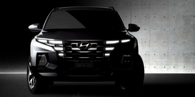 Hình ảnh của Hyundai Santa Cruz. Ảnh: Hyundai