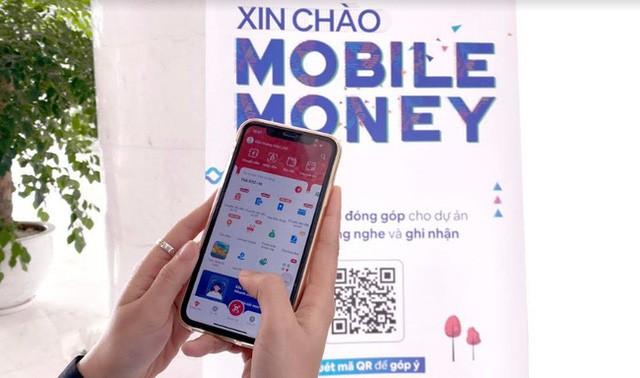 """Mobile Money: """"Cánh tay"""" nối dài của ngân hàng - Ảnh 1."""