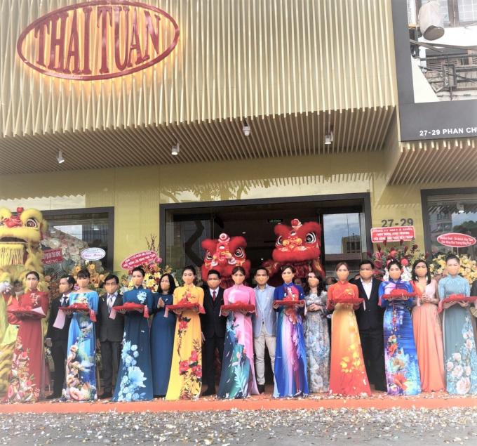 Thương hiệu thời trang Thái Tuấn bắt đầu gia nhập vào làng thời trang thế giới.