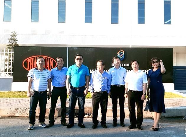 Cùng với kế hoạch phát triển thương hiệu dệt may Thái Tuấn thành thương hiệu toàn cầu, doanh nhân Trần Ngọc Đính cũng bắt đầu nhảy vào thị trường giặt ủi công nghiệp với Nhà máy có quy mô lớn nhất Đông Nam Á hiện nay.