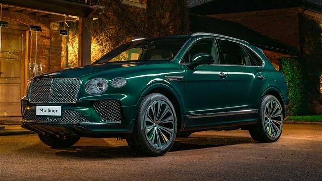 Ngắm SUV siêu sang Bentley Bentayga xanh ngọc lục bảo độc nhất vô nhị - 1