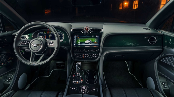 Ngắm SUV siêu sang Bentley Bentayga xanh ngọc lục bảo độc nhất vô nhị - 6