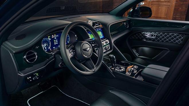 Ngắm SUV siêu sang Bentley Bentayga xanh ngọc lục bảo độc nhất vô nhị - 9