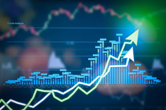 """Bộ đôi cổ phiếu """"họ Vin"""" tiếp tục là đầu tàu kéo điểm số VN-Index."""
