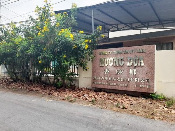 Công ty Hương Dừa vừa bị xử phạt 370 triệu đồng