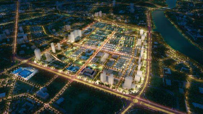 Vinhomes Star City nổi bật giữa lòng thành phố Thanh Hóa