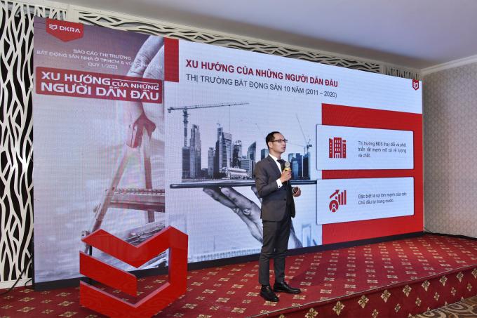 Theo ông Nguyễn Hoàng, chủ đầu tư trong nước đã tạo ra nhiều thay đổi của thị trường trong thời gian qua
