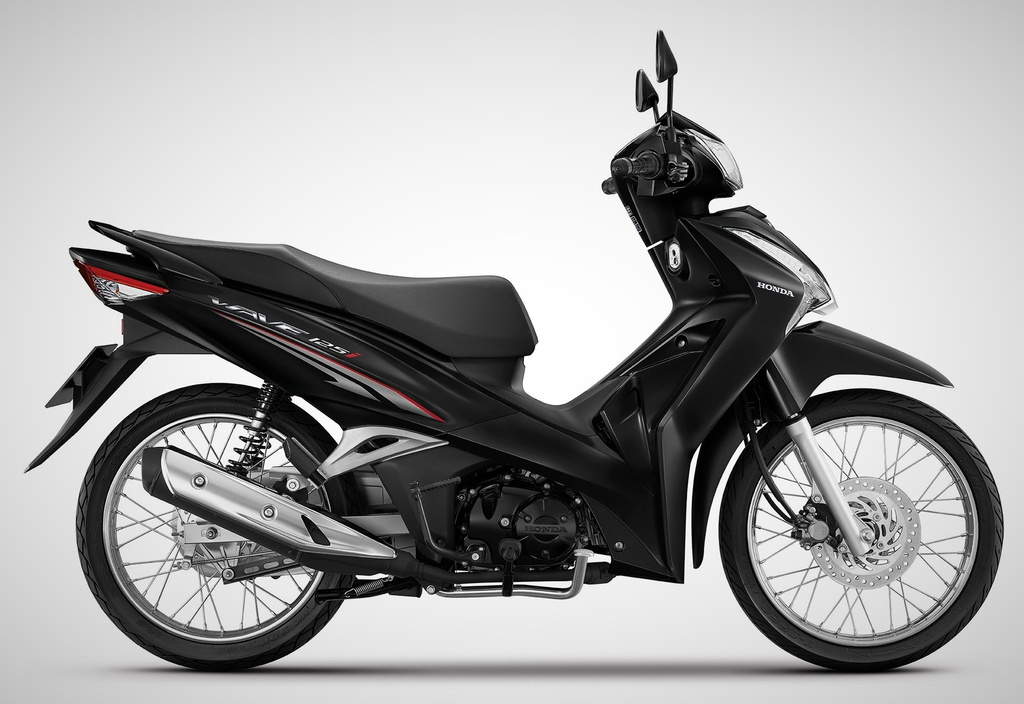 Honda Wave 125i 2021 ra mắt tại Thái Lan. Ảnh: Honda
