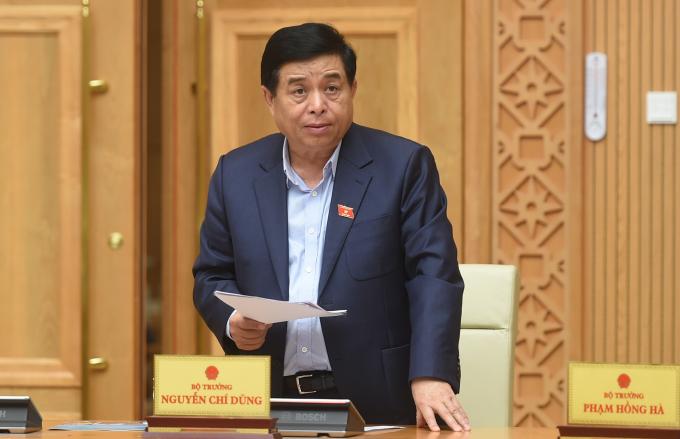 """Nhìn nhận về """"bức tranh"""" kinh tế quý I/2021, Bộ trưởng Bộ Kế hoạch và Đầu tư Nguyễn Chí Dũng cho biết, dòng tiền đang có xu hướng đầu tư vào thị trường bất động sản."""