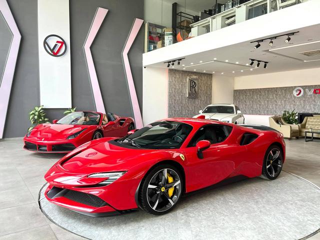 Ferrari SF90 Stradale của nữ đại gia 9X biến thành bản độc sau khi qua tay showroom, dân tình chờ đón siêu phẩm LaFerrari mới - Ảnh 8.