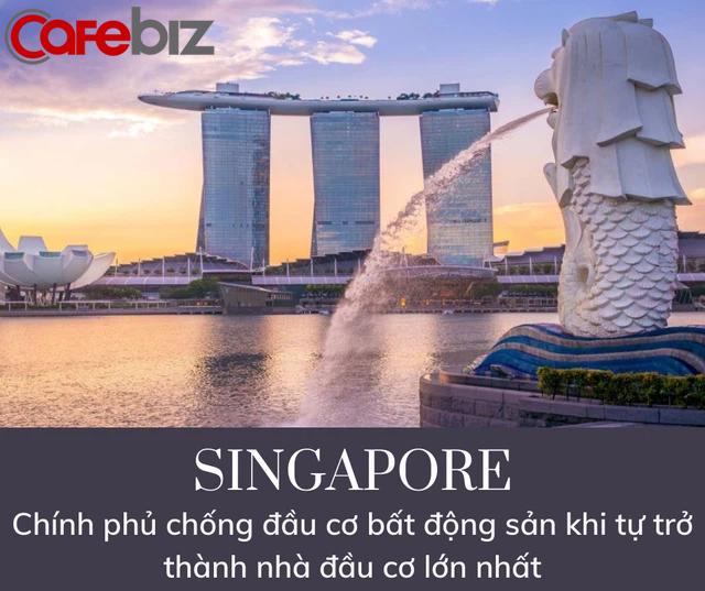 Lý do Singapore không bao giờ xảy ra bong bóng BĐS: Chính phủ trở thành tay to đầu cơ, thâu tóm 90% đất đai, xây nhà bán lại cho dân - Ảnh 2.