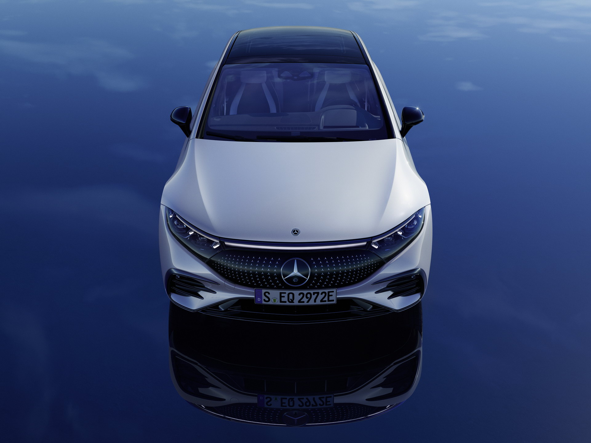 Siêu phẩm xe điện Mercedes-Benz EQS chính thức ra mắt: Tầm hoạt động 770 km, hiện đại như robot - Ảnh 3.