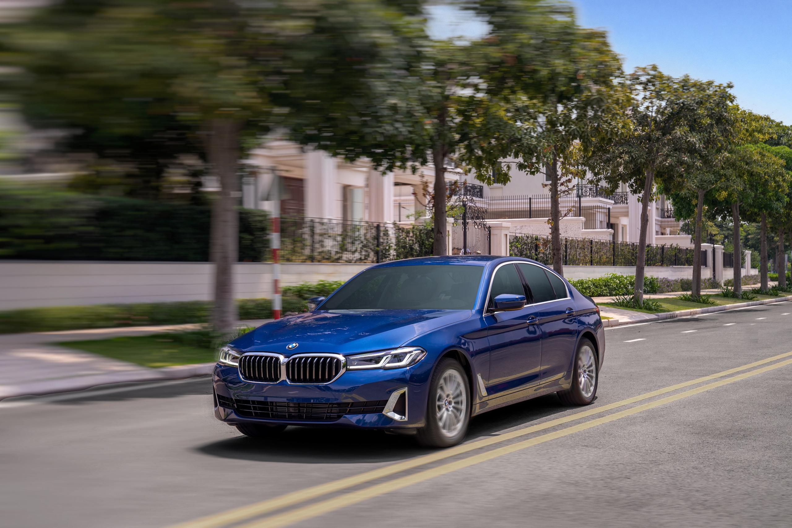 BMW 5 Series 2021 về Việt Nam: Giá từ 2,5 tỷ đồng, đối đầu Mercedes-Benz E-Class - Ảnh 6.