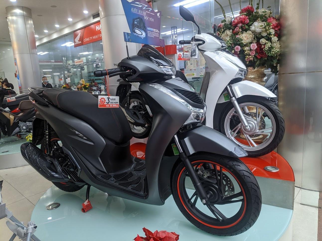 Thị trường xe máy tiếp tục lao dốc đầu năm 2021  - Ảnh 1.