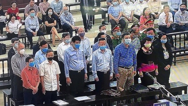 Tuyên án vụ Gang thép Thái Nguyên: 19 bị cáo nhận hơn 75 năm tù - 1