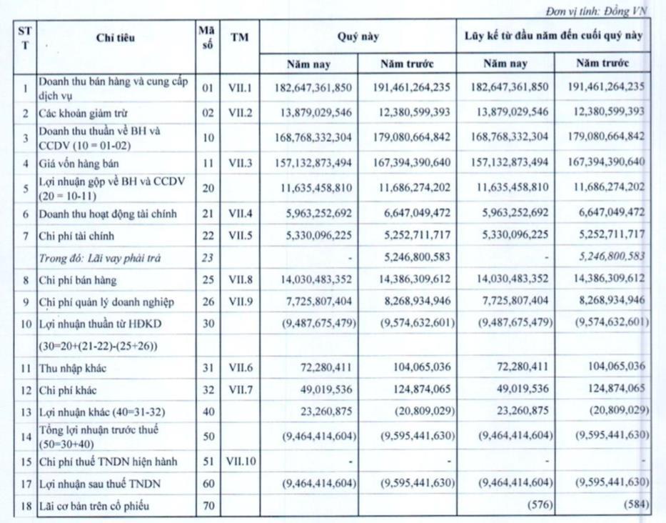 Bánh kẹo Hải Hà (HHC): Quý 1 lỗ 9,5 tỷ đồng - Ảnh 1.