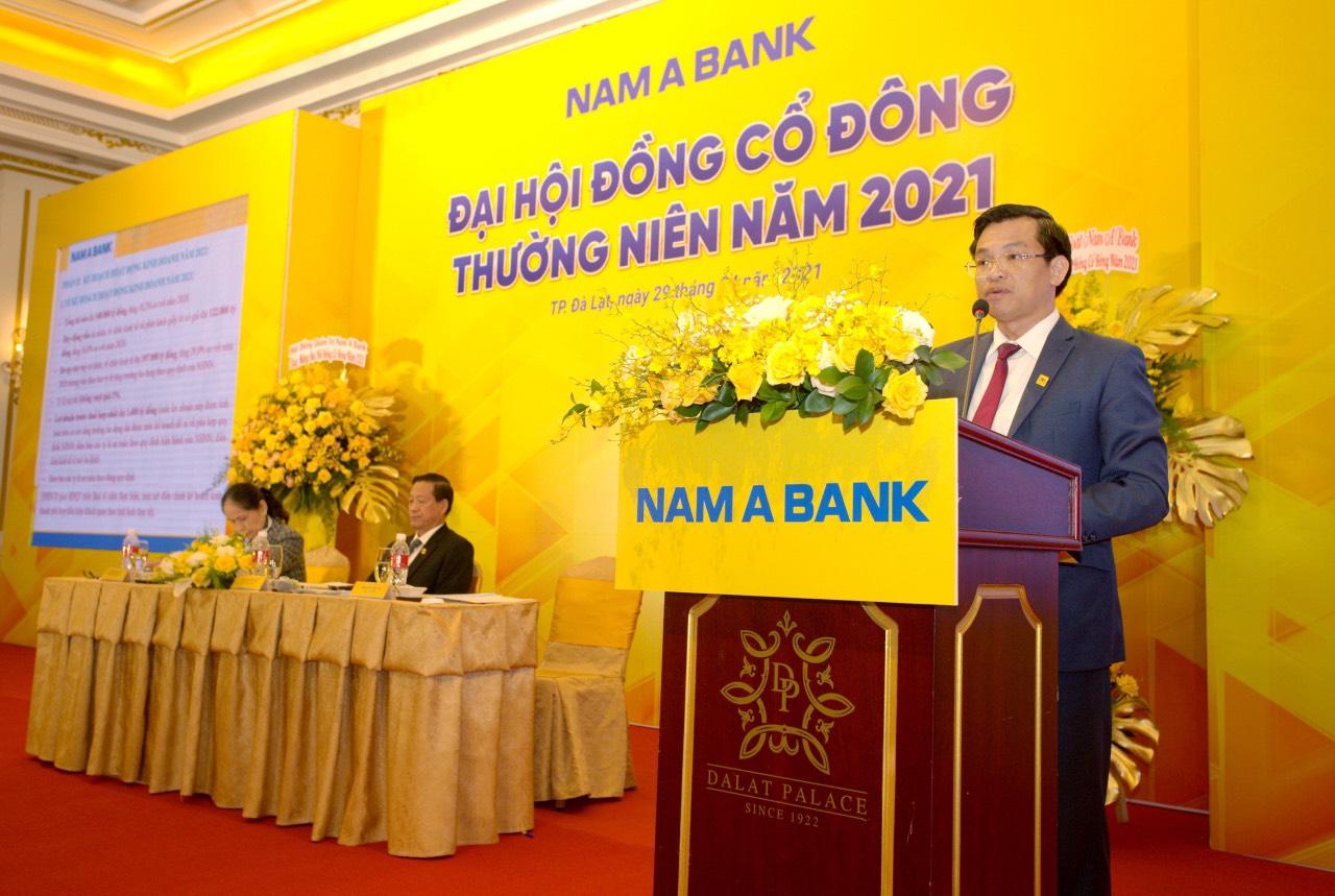 ĐHCĐ Nam A Bank: Chốt chia cổ tức tỷ lệ 14,68%, tiếp tục đẩy mạnh chuyển đổi số - Ảnh 2.