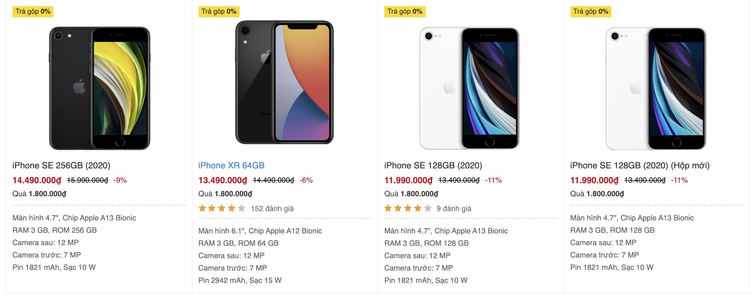 iPhone giá rẻ đã chết tại Việt Nam - Ảnh 1.