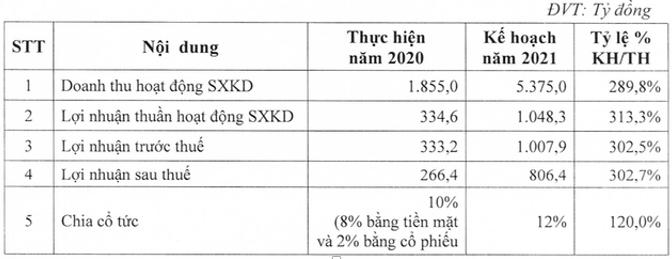 Bamboo Capital (BCG): Năm 2021 tiếp tục M&A các dự án tiềm năng, trình kế hoạch lợi nhuận tăng 203% lên 806 tỷ đồng - Ảnh 1.