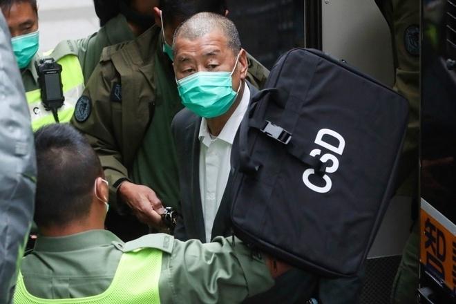 Trùm truyền thông Hong Kong Jimmy Lai bị đóng băng tài sản - 1