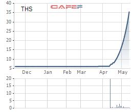 Một cổ phiếu ngành thép đã tăng trần 17 phiên liên tiếp, gấp 6 lần trong vòng 1 tháng - Ảnh 1.