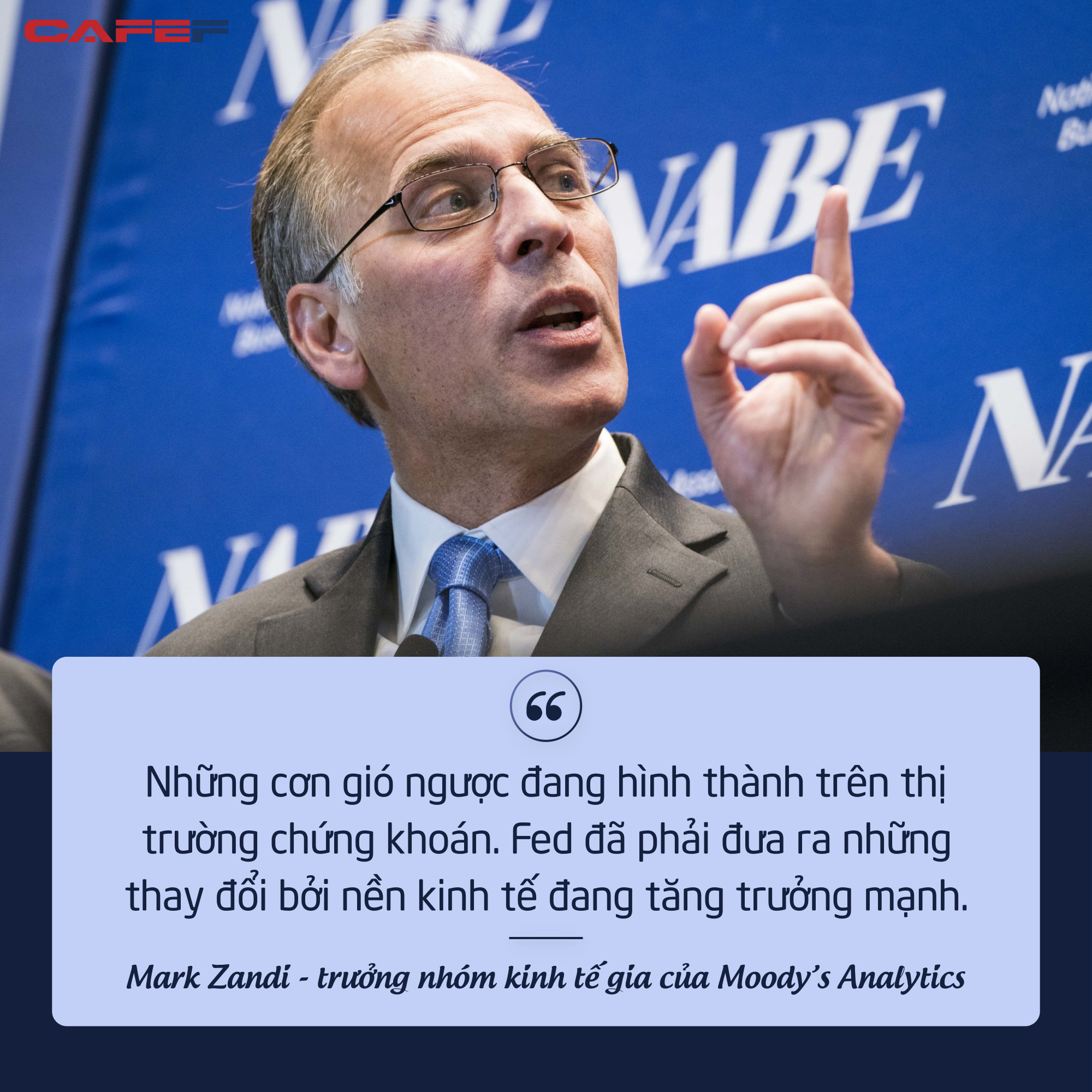 Moodys Analytics: Lạm phát có thể khiến chứng khoán Mỹ điều chỉnh từ 10-20%  - Ảnh 1.