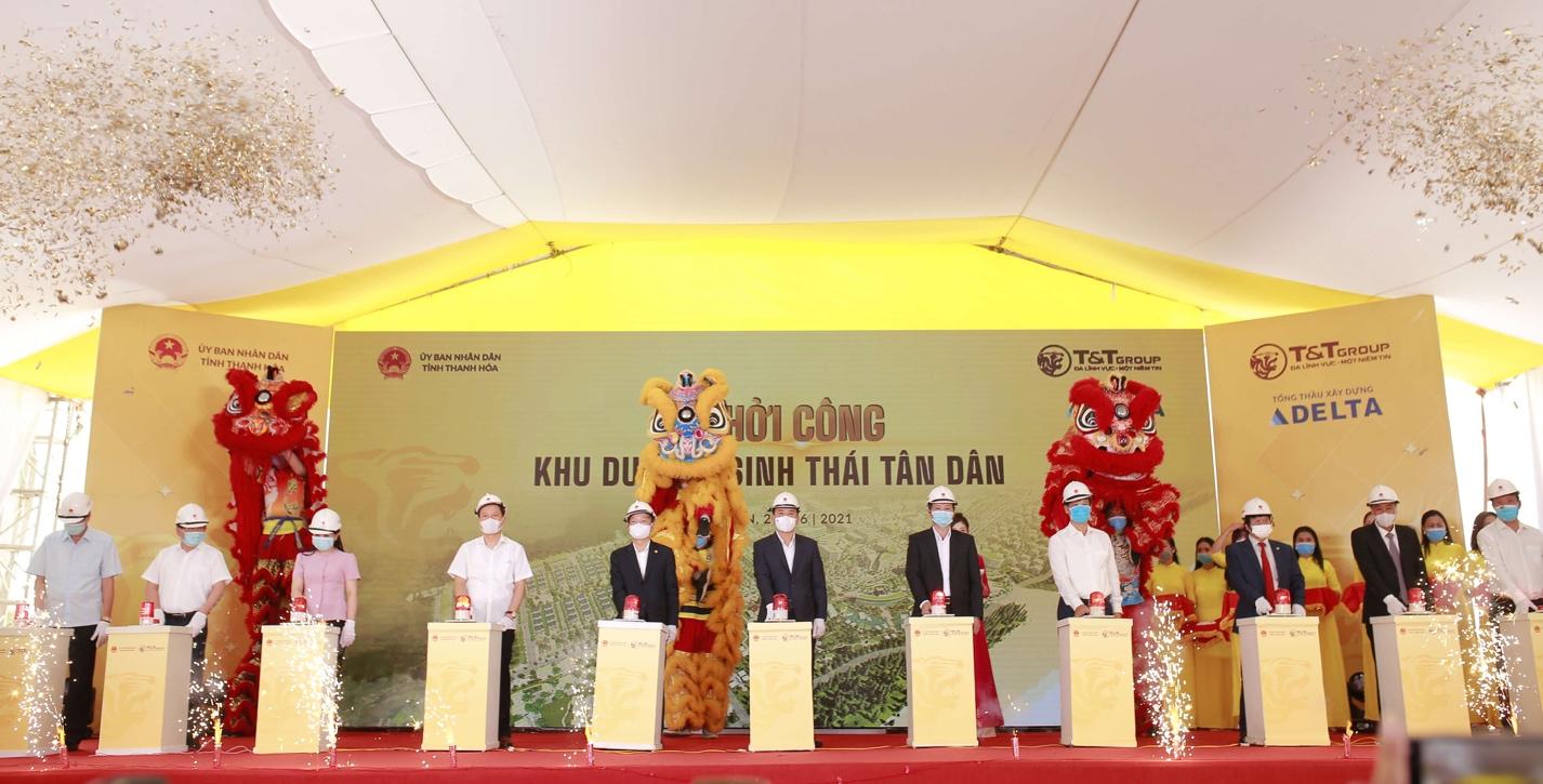 T&T Group khởi công xây dựng khu du lịch sinh thái biển với tổng mức đầu tư hơn 3.660 tỷ tại Thanh Hóa - Ảnh 2.