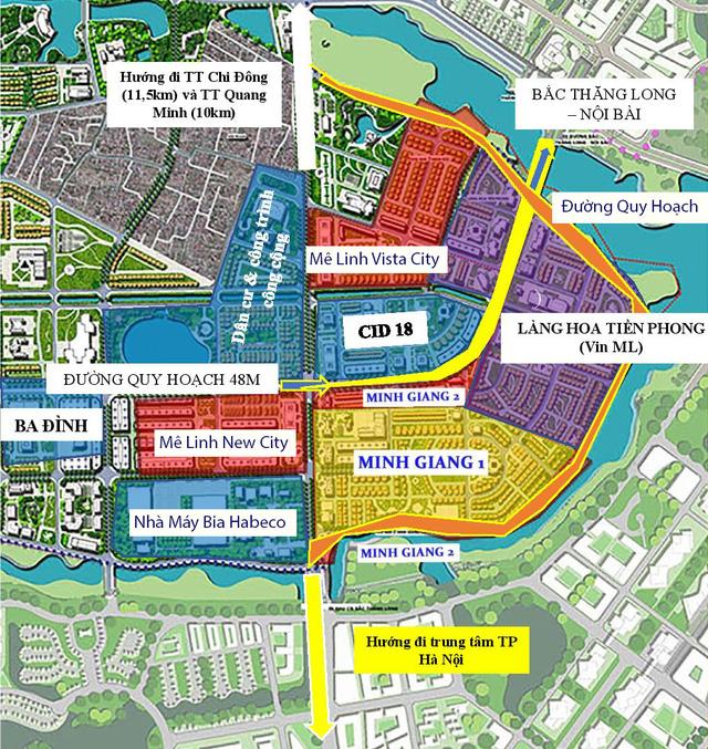 Vinhomes chưa có kế hoạch triển khai hai đại dự án Mê Linh năm 2021, đất Mê Linh có gãy sóng? - Ảnh 1.