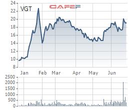 Vingroup tiếp tục thoái gần 13 triệu cổ phần tại Vinatex (VGT), giảm tỷ lệ sở hữu xuống còn 5% - Ảnh 1.