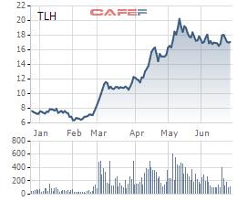 Thép Tiến Lên (TLH): Kinh doanh tháng 5 hạ nhiệt, vẫn hoàn thành vượt kế hoạch năm sau 5 tháng - Ảnh 1.