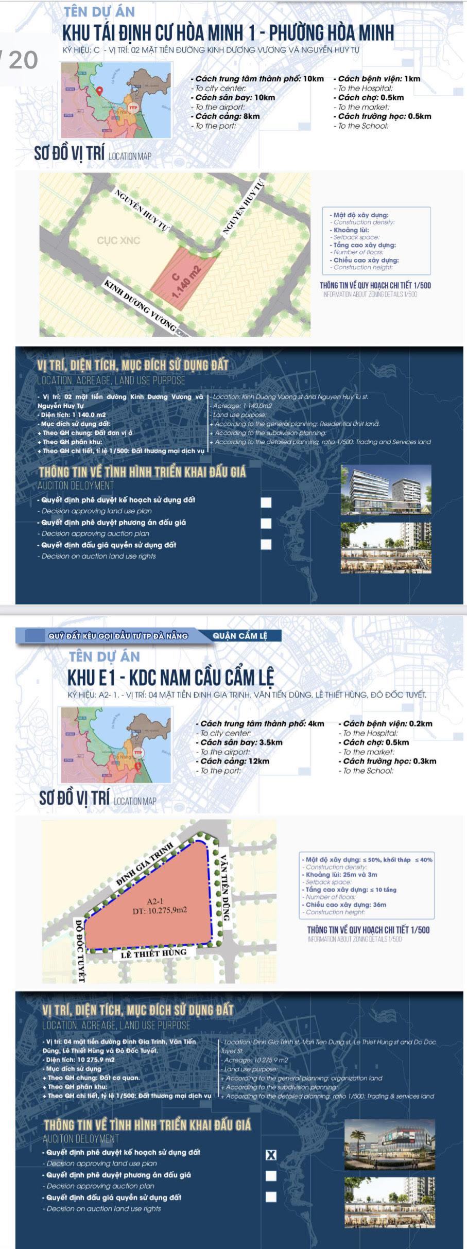 Sau sốt đất, Đà Nẵng bất ngờ công bố chi tiết 22 khu đất sạch kêu gọi đầu tư - Ảnh 2.