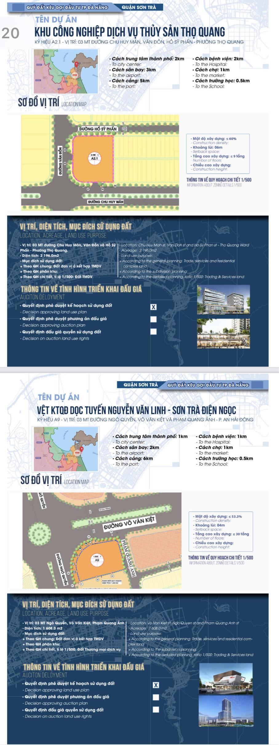 Sau sốt đất, Đà Nẵng bất ngờ công bố chi tiết 22 khu đất sạch kêu gọi đầu tư - Ảnh 12.